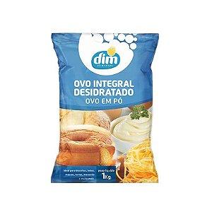 Ovo Integral Desidratado em Pó 1 Kg Dim Alimentos Rizzo Confeitaria