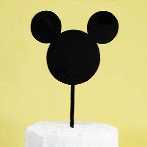 Topo de Bolo Mickey Vivarte Rizzo Confeitaria