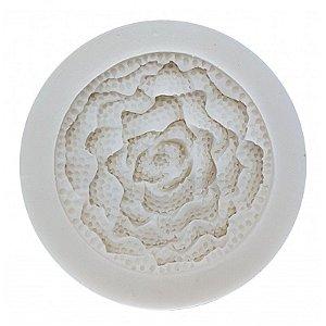 Molde de Silicone Rosa GMEZN579 Prime Chef Rizzo Confeitaria