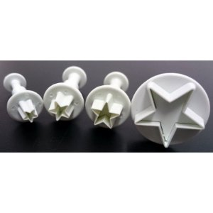 Kit Ejetor Estrela com 4 peças GMEZN129 Prime Chef Rizzo Confeitaria