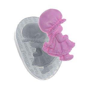 Molde de Silicone Boneca Valentina Ref. 572 Flexarte Rizzo Confeitaria