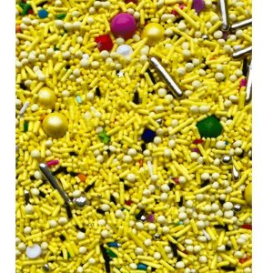 Fairy Sprinkles Yellow Love 150 gr Rizzo Confeitaria