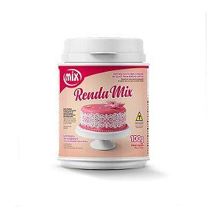 Renda Mix 100g - MIX  Rizzo Confeitaria