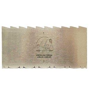 Espátula Decorativa para Bolo em Inox Mod. 1 e 2 NP Rizzo Confeitaria