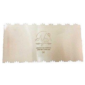 Espátula Decorativa para Bolo em Inox Mod. 35 NP Rizzo Confeitaria