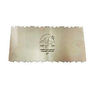 Espátula Decorativa para Bolo em Inox Mod. 37 NP Rizzo Confeitaria