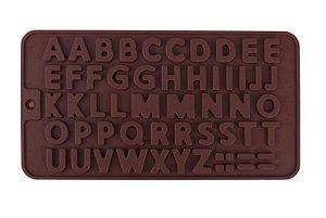 Forma de Silicone Alfabeto Rizzo Confeitaria