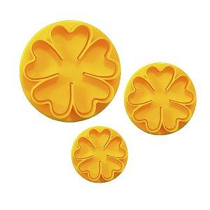 Ejetor de Flor 3 peças Rizzo Confeitaria