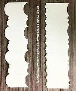 Espátula Decorativa Ref 20 Solrac Rizzo Confeitaria