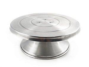 Bailarina - Prato Giratório de Alumínio 30cm Caparroz Rizzo Confeitaria