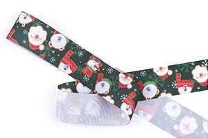 Fita de Cetim Papai Noel EGP009TR 067 Progresso Rizzo Confeitaria