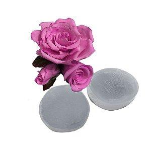 Molde de Silicone Veiner Rosa Karter Ref. 507 Flexarte Rizzo Confeitaria
