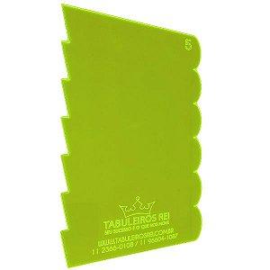 Espátula Decorativa Ref 5 20x12 Tabuleiros Rei Rizzo Confeitaria