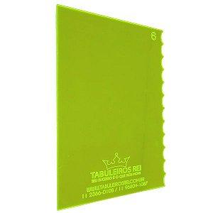 Espátula Decorativa Ref 6 20x12 Tabuleiros Rei Rizzo Confeitaria