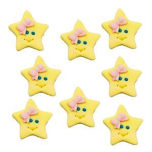 Confeitos Comestíveis Estrela - Flores e Encantos de Açúcar Rizzo Confeitaria