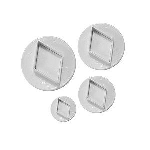 Ejetor de Diamante 4 peças Rizzo Confeitaria