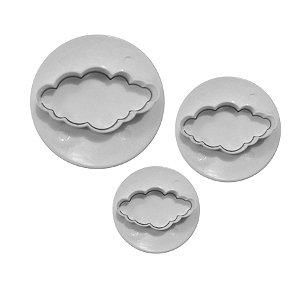 Ejetor de Nuvem 3 peças Rizzo Confeitaria