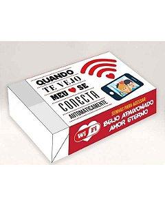 Caixa Divertida Amor Wifi Ref. 519 - 6 doces com 10 un. Erika Melkot Rizzo Confeitaria
