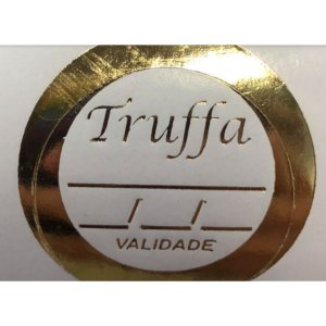 Etiqueta Truffa 1000 unidades Rizzo Confeitaria