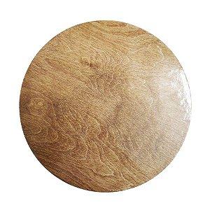 Disco para Bolos e Tortas Madeira 24 cm 1 un. Rizzo Confeitaria