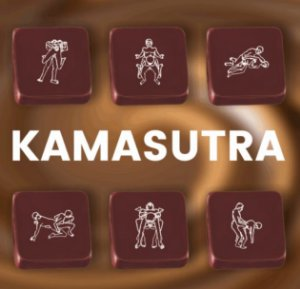 Transfer para Chocolate Kamasutra TRG 8118 01 Stalden Rizzo Confeitaria
