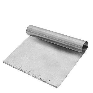 Espátula Raspadora de Metal 15 cm Artlille Rizzo Confeitaria
