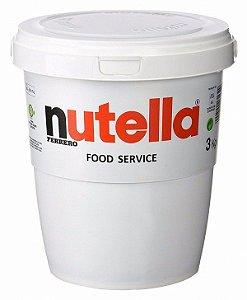 Creme de Avelã Nutella 3kg Ferrero Rizzo Confeitaria
