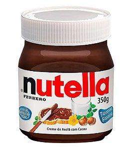 Creme de Avelã Nutella 350g Ferrero Rizzo Confeitaria