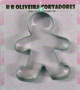 Cortador Gingerbread 1 M - Mod.081 - RR Cortadores Rizzo Confeitaria