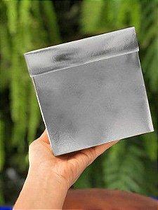 Caixa Cubo Metalizada Para Presente com 10 unidades ASSK Rizzo Confeitaria