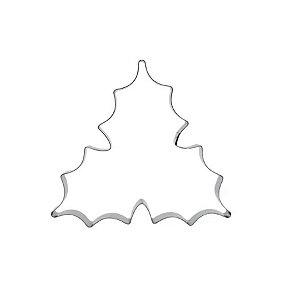 Cortador Folha de Azevinho 1G - Mod. 389 - RR Cortadores Rizzo Confeitaria