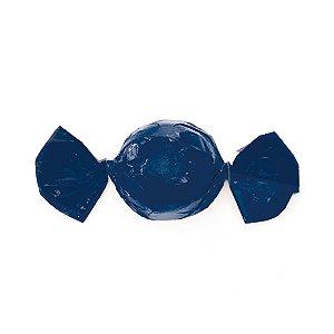 Embalagem Mini Trufa - 12x12,5cm - Azul Marinho - 100 unidades - Cromus Páscoa 2020 - Rizzo Confeitaria