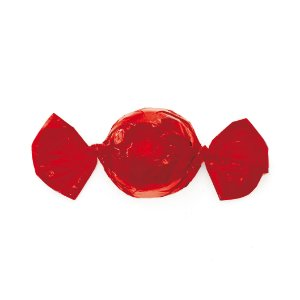 Papel Trufa Vermelho 14,5x15,5cm - 100 unidades - Cromus - Rizzo Confeitaria