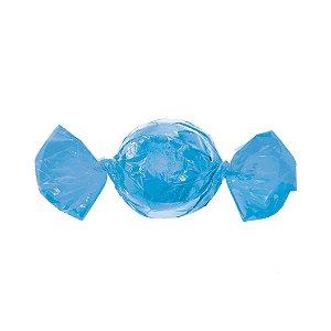 Embalagem Trufa - 15x16cm - Azul Claro - 100 unidades - Cromus Páscoa 2020 - Rizzo Confeitaria