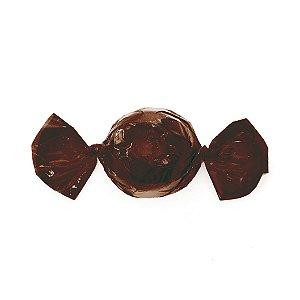 Papel Trufa 14,5x15,5cm - Marrom Cafe - 100 unidades - Cromus - Rizzo Confeitaria