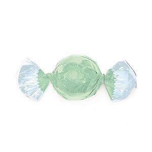 Embalagem Trufa 15x16cm - Sianinha Verde - 100 unidades - Cromus - Rizzo Confeitaria