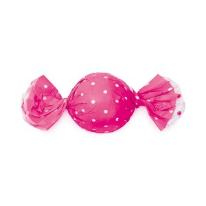 Papel Trufa 14,5x15,5cm - Poa Double Face Pink - 100 unidades - Cromus - Rizzo