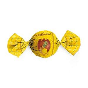 Embalagem Trufa 15x16cm - Sabor Abacaxi - 100 unidades - Cromus - Rizzo Confeitaria
