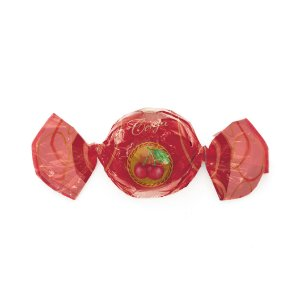 Embalagem Trufa 15x16cm - Sabor Cereja - 100 unidades - Cromus - Rizzo Confeitaria