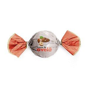 Embalagem Trufa 15x16cm - Sabor Creme de Avelã - 100 unidades - Cromus - Rizzo Confeitaria