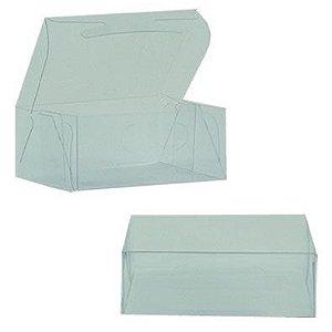 Caixa de Acetato Transparente M01 (8x6,5x4cm) - 20 unidades - CAC - Rizzo Confeitaria
