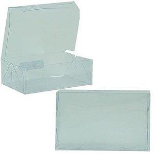 Caixa de Acetato Transparente M03 (12x8x3,5cm) - 20 unidades - CAC - Rizzo Confeitaria