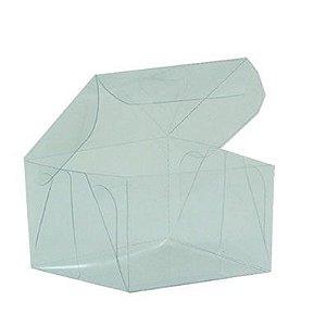 Caixa de Acetato Transparente M09 (7x7x4,2cm) - 20 unidades - CAC - Rizzo Confeitaria