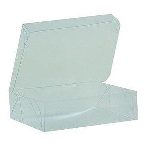 Caixa de Acetato Transparente M10 (13x10x3,5cm) - 20 unidades - CAC - Rizzo Confeitaria
