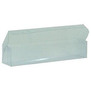 Caixa de Acetato Transparente M12 (24,5x5,5x4,5cm) - 20 unidades - CAC - Rizzo Confeitaria