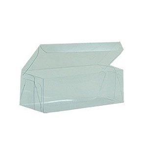Caixa de Acetato Transparente M13 (9x4,5x3,5cm) - 20 unidades - CAC - Rizzo Confeitaria