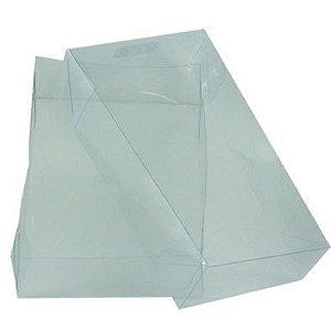 Caixa de Acetato Transparente Ref. 13C (20X14X4cm) - 20 unidades - CAC - Rizzo Confeitaria