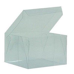 Caixa de Acetato Transparente Ref. 23 (10x10x7cm) - 20 unidades - CAC - Rizzo Confeitaria