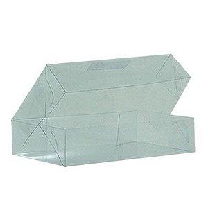 Caixa de Acetato Transparente Ref. 28 (14x8,5x3,5cm) - 20 unidades - CAC - Rizzo Confeitaria