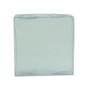 Caixa de Acetato Transparente Ref. 32 (8x8x3cm) - 20 unidades - CAC - Rizzo Confeitaria